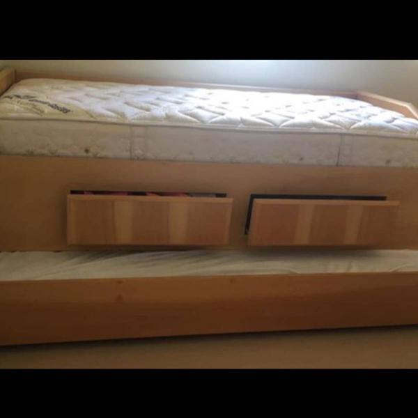 Bicama madeira maciça