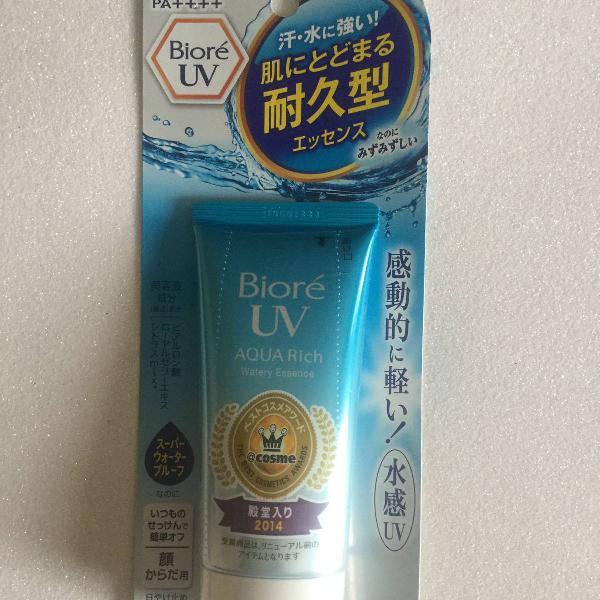 Bioré uv aqua rich watery essence spf50+ pa++++ (2018)
