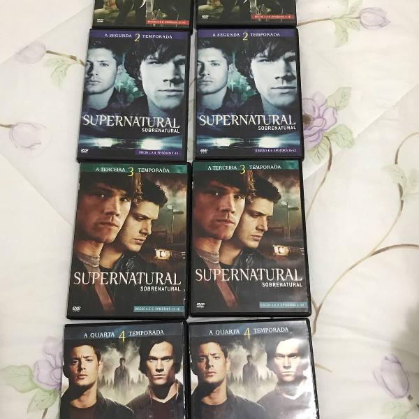 Box da série sobrenatural