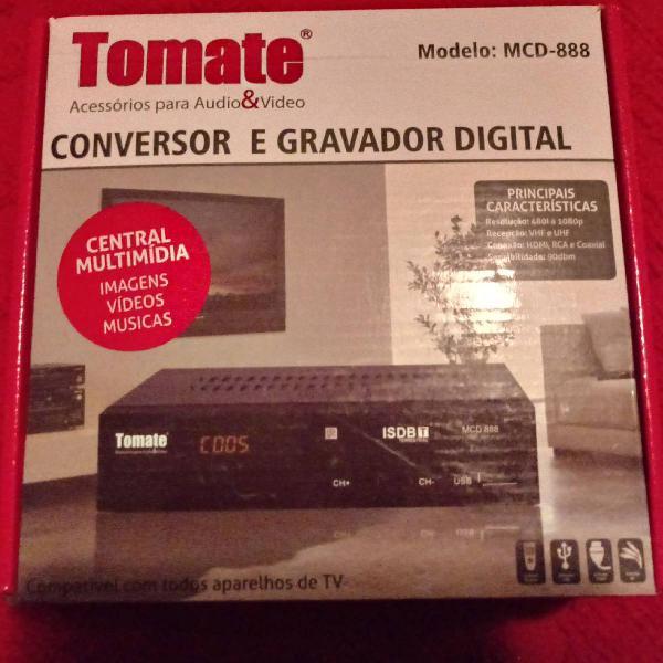 Conversor e gravador digital