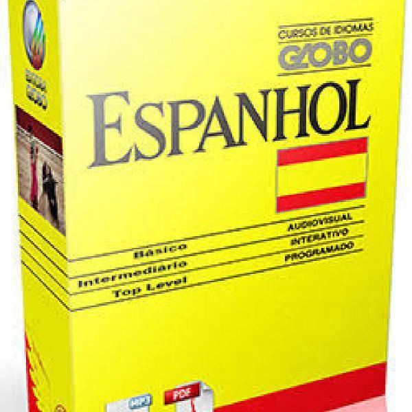 Curso de espanhol - normal e top level - apostilas e audios