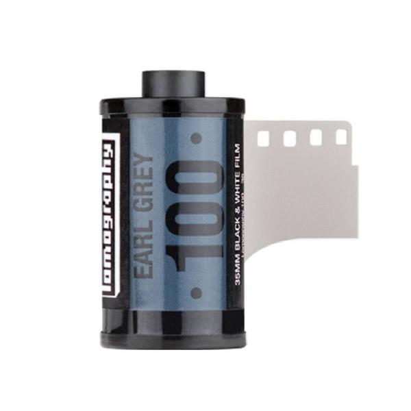 Filme 35mm preto e branco earl grey iso100. kit com 3