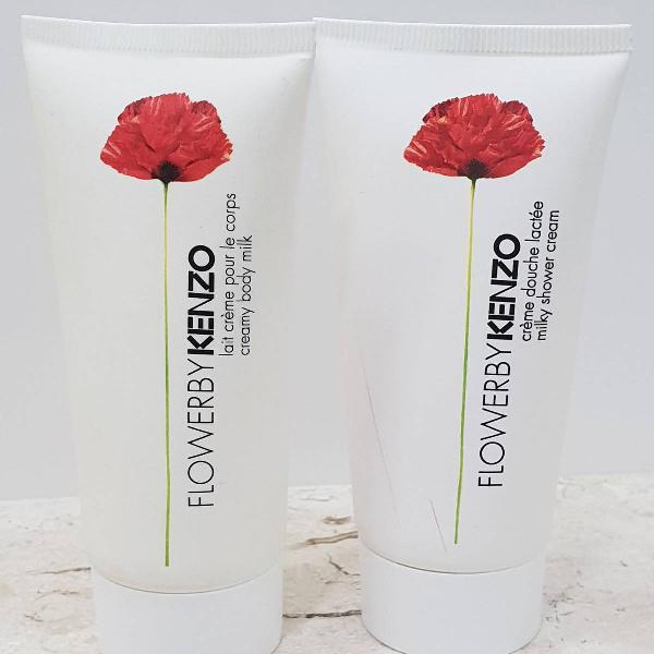 Hidratante e sabonete líquido flower by kenzo