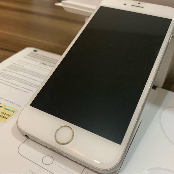 Iphone 6s 32gb bateria nova 100% + capa c/ suporte veicular