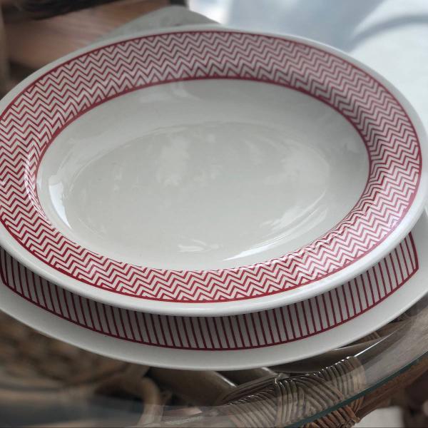 Jogo porcelana oxford