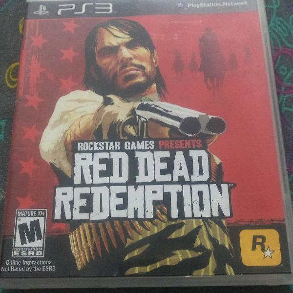 Jogo red dead redemption de ps3