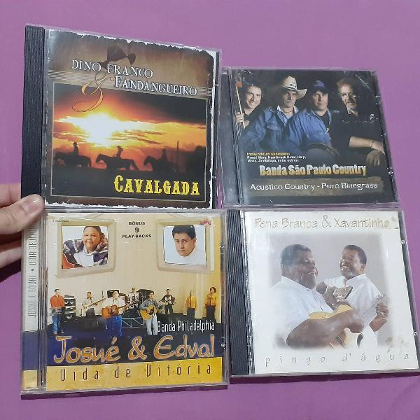 Kit com 4 cds