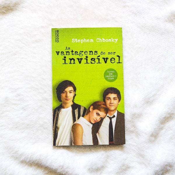 Livro as vantagens de ser invisível - stephen chbosky