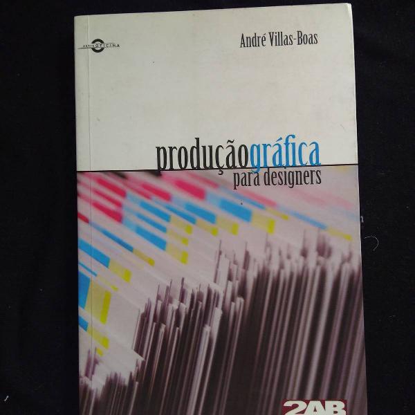 Livro produção gráfica para designer