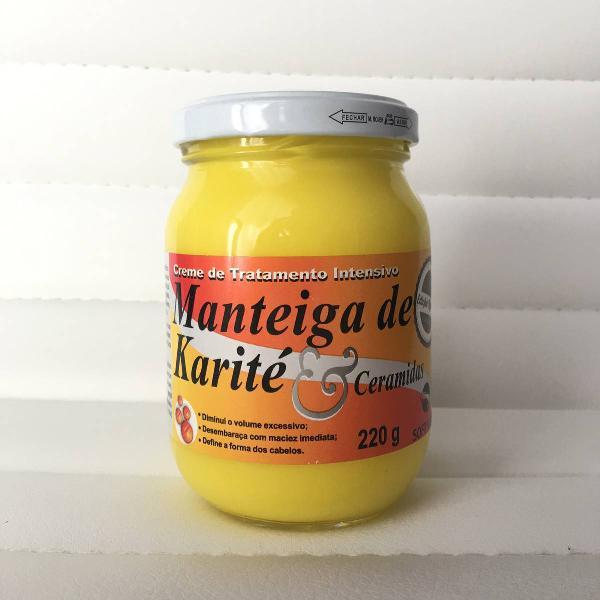 Manteiga de karité fechada