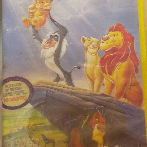 O legítimo rei leão da disney