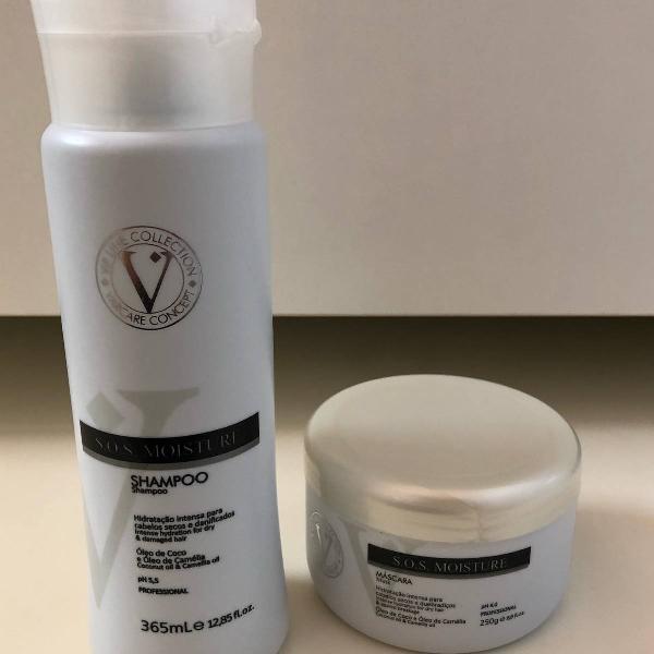 Shampoo e máscara hitratação itensiva 365ml (óleo de