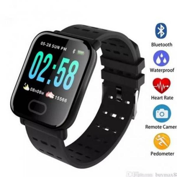 Smartwatch com monitor e pressão arterial novo