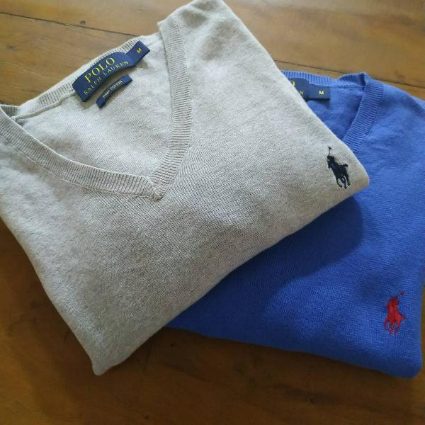 Suéter masculino polo ralph lauren