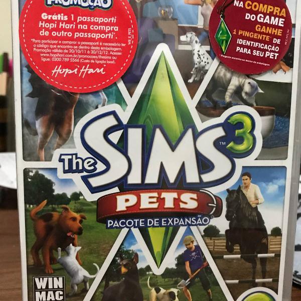 The sims 3 pets lacrado [edição limitada]