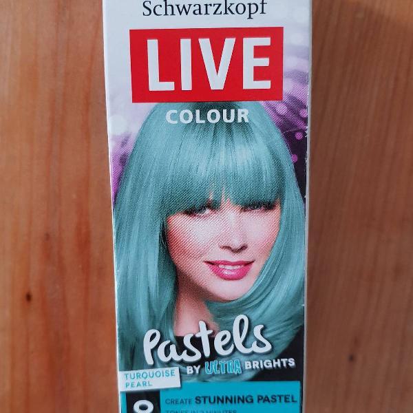 Tinta temporária cabelo - verde