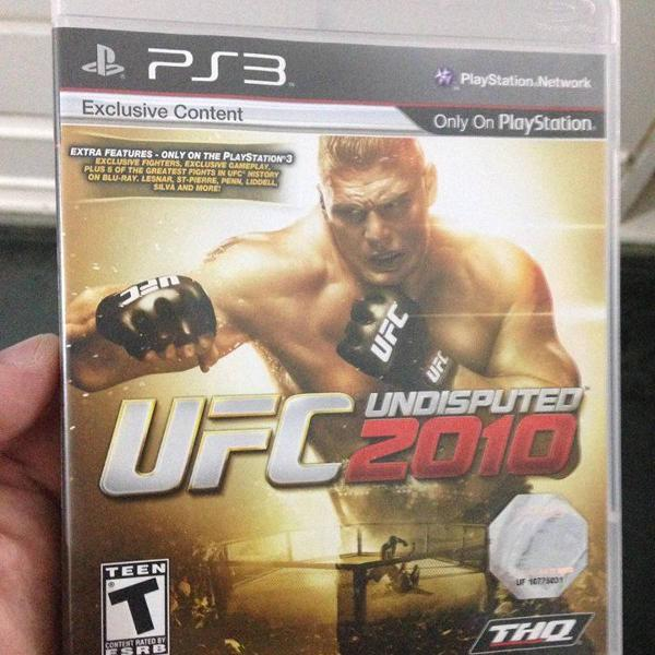 Ufc 2010 semi novo mídia física ps3 playstation 3 r$88