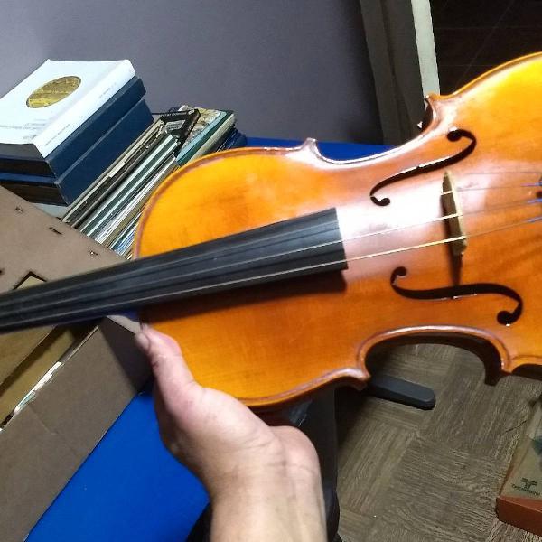 Viola de arco do luthier alemão franz wienmeister fw 920