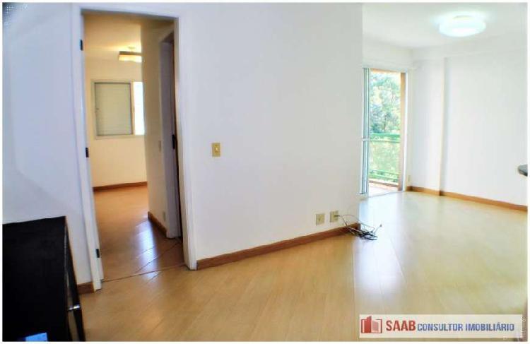 Apartamento com 1 quarto para alugar, 43 m² por r$