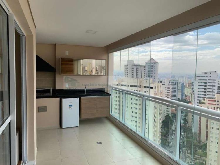 Apartamento com 2 quartos para alugar, 106 m² por r$