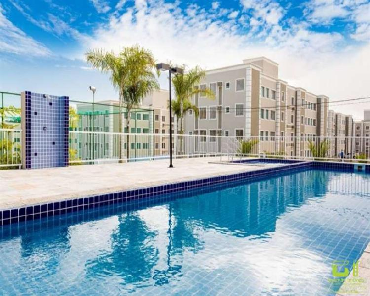 Apartamento com 2 quartos para alugar, 47 m² por r$