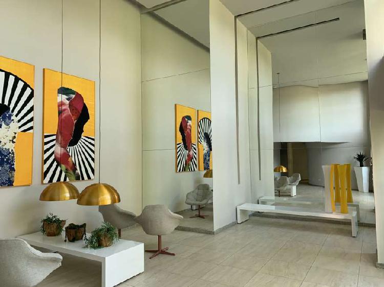 Apartamento com 2 quartos para alugar, 58 m² por r$