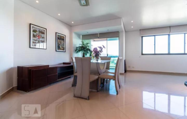 Apartamento com 3 quartos para alugar, 118 m² por r$
