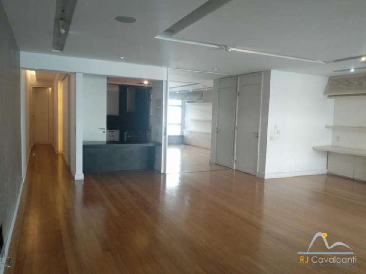Apartamento com 3 quartos para alugar, 164 m² por r$
