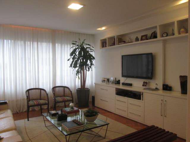 Apartamento com 4 quartos para alugar, 168 m² por r$