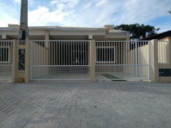 Casa nova geminada no balneário cambiju