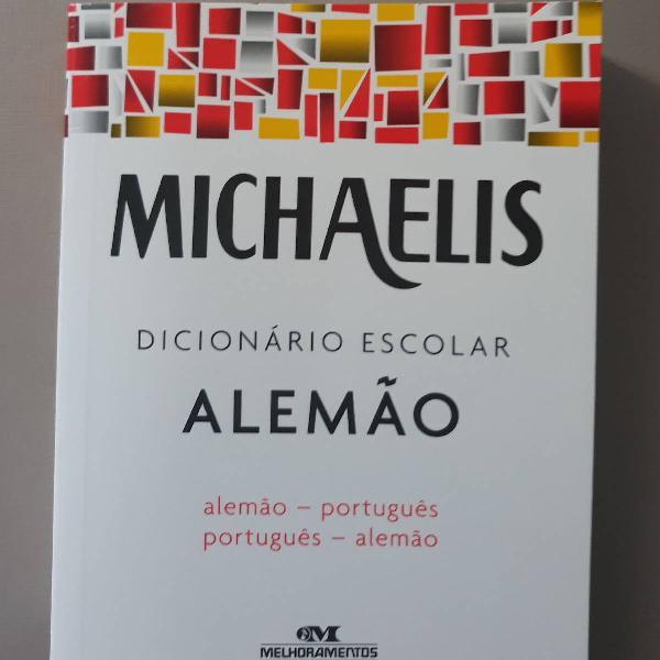 Dicionário michaelis alemão