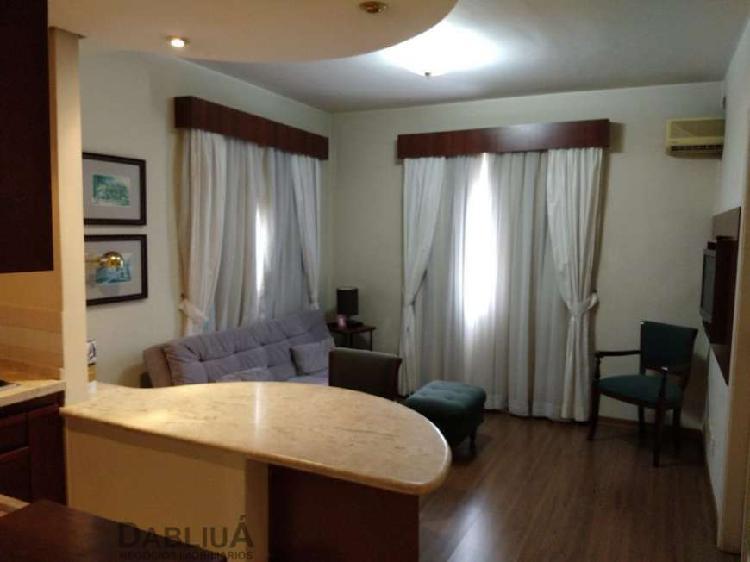 Flat com 1 quarto para alugar, 32 m² por r$ 2.390/mês cod.