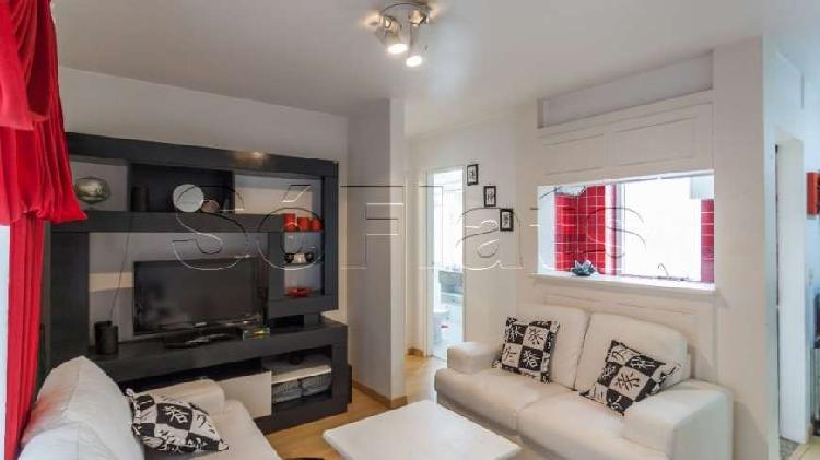 Flat com 1 quarto para alugar, 42 m² por r$ 1.700/mês cod.