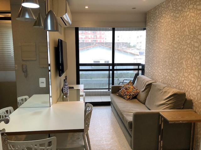Flat com 1 quarto para alugar, 50 m² por r$ 3.200/mês cod.