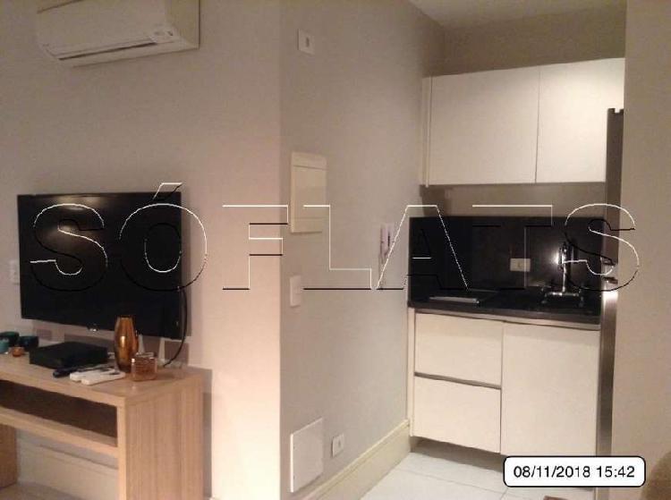 Flat com 1 quarto para alugar, 52 m² por r$ 2.555/mês cod.