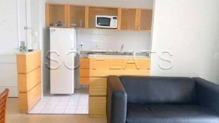 Flat com 2 quartos para alugar, 50 m² por r$ 3.300/mês