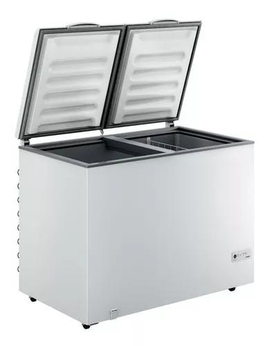 Freezer 414 lts solar horizontal solar vulcan duas portas