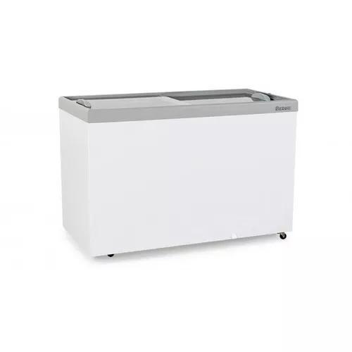 Freezer horizontal dupla ação duas portas gelopar 411l