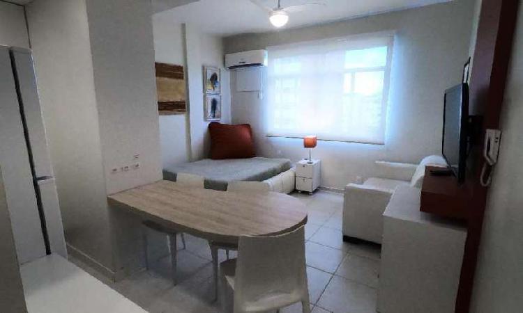 Kitnet com 1 quarto para alugar, 40 m² por r$ 2.900/mês