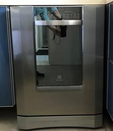 Lava louça electrolux modelo le12b aço inox