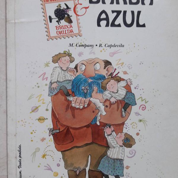 Livro infantil as sobrinhas da bruxa onilda & barba azul