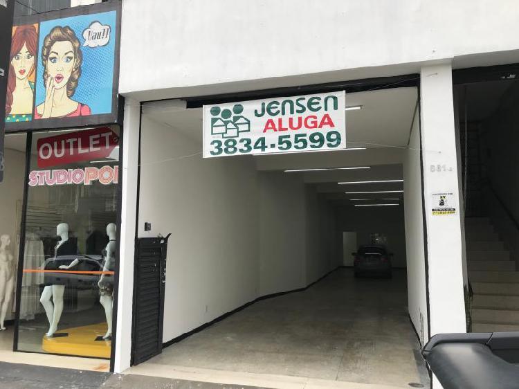 Loja comercial para alugar, 120 m² por r$ 4.400/mês cod.