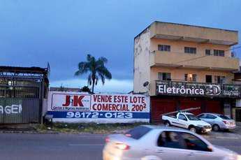Lote à venda no bairro taguatinga norte, 200m²