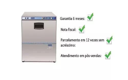 Maquina lavar louça copo industrial metvisa b20