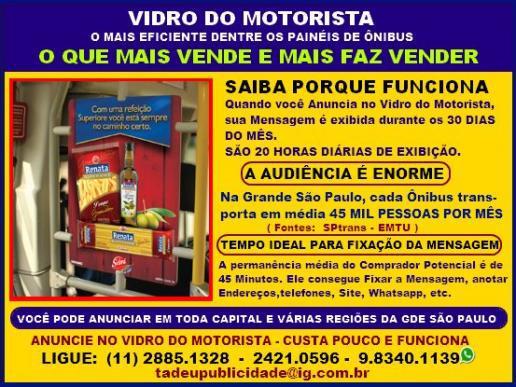 Publicidade em ônibus em são paulo (capital) - venda mais