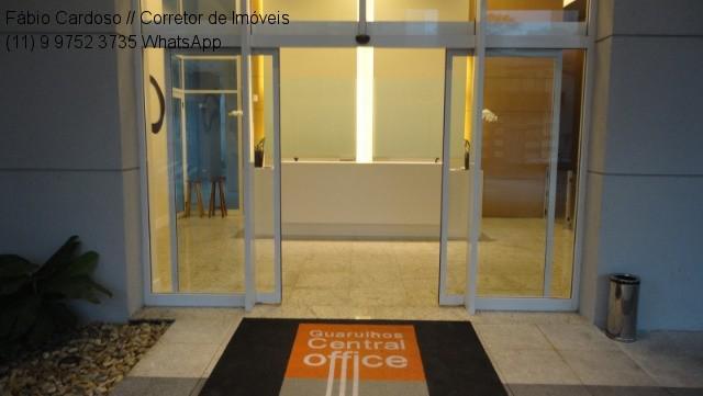 Sala comercial com 1 quarto para alugar, 43 m² por r$