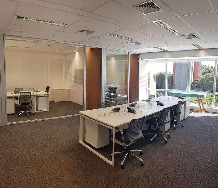 Sala comercial para alugar, 118 m² por r$ 7.600/mês cod. c