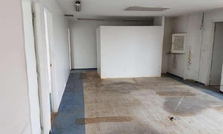 Sala comercial para alugar, 125 m² por r$ 4.500/mês cod.