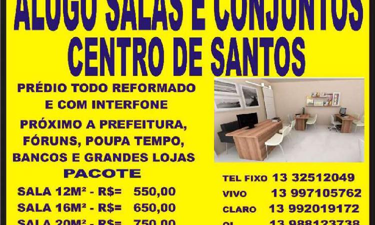 Sala comercial para alugar, 20 m² por r$ 600/mês cod.