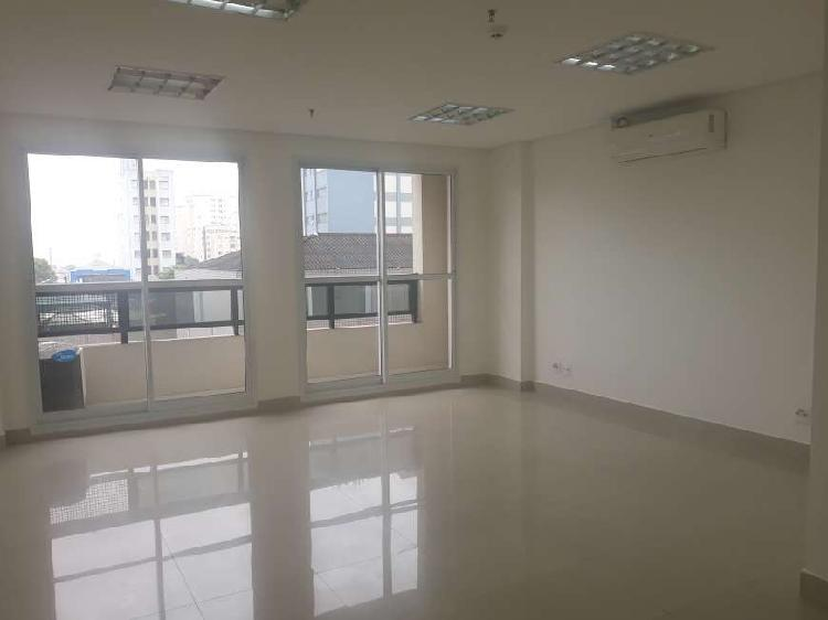 Sala comercial para alugar, 36 m² por r$ 1.500/mês cod.